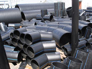 трубы полиэтиленовые для воды,  газа,  канализации,  тройники,  втулки
