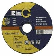 180 х 2.0 х 22.23. Отрезной круг (диск) для металла. RinG (Австрия).