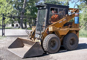 демонтаж зданий,  планировка,  вывоз мусора.