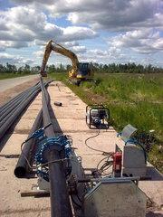 Строительство и монтаж трубопроводов для систем полива и орошения