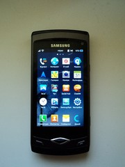 Продаю Samsung Wave s8500 black б/у