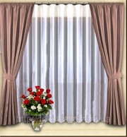 Тюлевые занавеси на окна