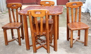 Деревянный стол + 4 стула