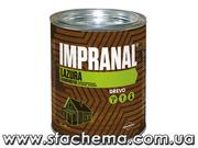 Чешский тонкослойный лак-лазурь для дерева Impranal на водной основе.