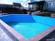 Строительство фундаментов,  бассейнов.