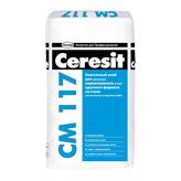 Эластичный клей для любых видов плитки Ceresit CM 117 (Церезит СМ 117