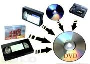 г Николаев перезапись  видеокассет на Dvd-диски