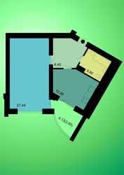 Удобная и комфортная 1 к. квартира