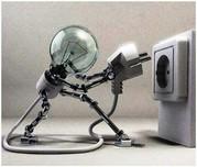 Услуги электрика,  проводка