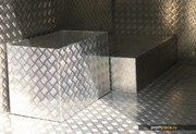 лист рифленый алюминиевый АД0 (1050 аналог), АМГ от 2мм