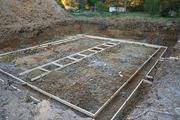Строительство фундаментов и бассейнов.