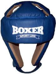 Шлем каратэ кожвинил Boxer Sport Line,  размер L (шлем для единоборств)