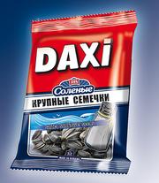 Жареные соленые семечки ТМ Дакси 180 г.