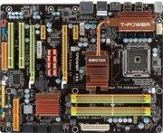 Материнская плата  Biostar TPower I45+процессор+оперативная память