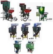 Мини-комбикормовая установка для животных,  птицы и рыбы (220/380В)