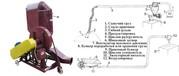 Пневматический транспортер (пневмопогрузчик) Для подачи любого сыпучег