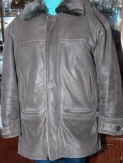 Мужская кожаная курточка