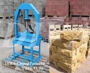 Гильотина для производства рваного колотого камня,  блока,  кирпича цена