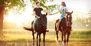 Конные прогулки,  катание на лошадях в Николаеве, уроки верховой езды дл