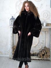 Красивая норковая шуба махаон 46 48 размеры