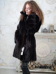 Красивый норковый полушубок махаон 42 44 размеры
