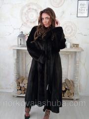 Элегантная норковая шуба махаон размеры 54 56