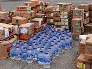 Сортировка гуманитарной продукции в Германию