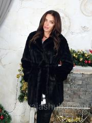 Женская роскошная норковая шуба 44 46 размеры