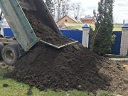 Чернозем с доставкой от 300 тонн