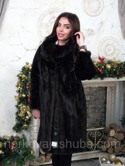Красивая женская шуба норковая размер 44 46 48 распродажа