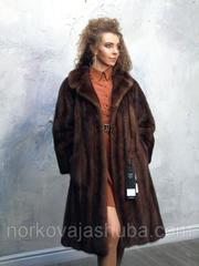Женская шуба норковая размер 46 48 классика