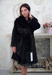 Женская шуба из меха норки размер 46 48 50 скидки