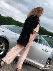Женская шуба норковая френч поперчека размер 44 46