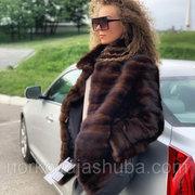 Женская фирменная шуба норковая размер 40 42 френч