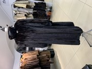 Шуба норковая длинная махаон размер 52 54 классика