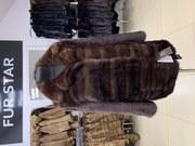 Купить шубу из меха норки размер 40 42 распродажа