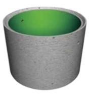 Железобетонная труба-оболочка ТС180.20-1п (с пвх покрытием)