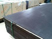 Фанера ламинированная 9х1500х3000 мм,  гладкая,  сетка береза