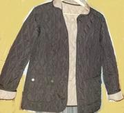 Куртка Bonprix двухсторонняя,  весенне-осенняя,  44-46
