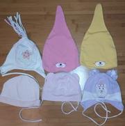 шапку для девочки на 0, 5 - 2 года