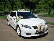 Белоснежные свадебные автомобили.